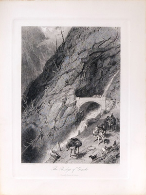 The Bridge Of Gondo, 1872