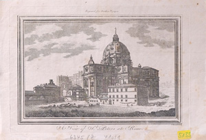 A View of St. Peters at Rome
