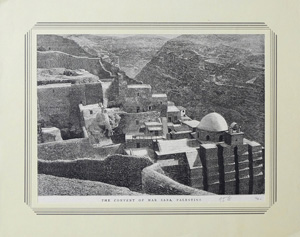 THE CONVENT OF MAR SABA, PALESTINE, 1884