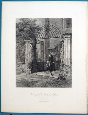 Gateway of the Cathedral, Coire., 1835